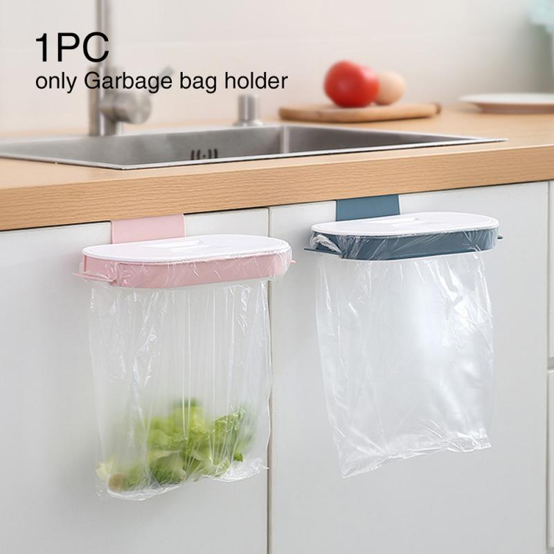 Держатель для мусорного пакета, подвесная корзина на дверцу кухонного шкафа, мусорное ведро