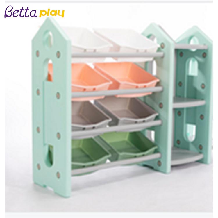 Оптовая продажа, индивидуальная Высококачественная пластиковая детская книжная полка, детский шкаф