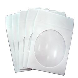 White Paper Sleeve CD Paper Sleeves