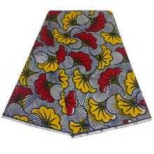 Африканская ткань, воск, хлопок, настоящий воск, ткань с принтом Анкары, африканская восковая ткань, 2020 Tissu воск для свадебных платьев(Китай)