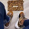 leopard-sneaker set