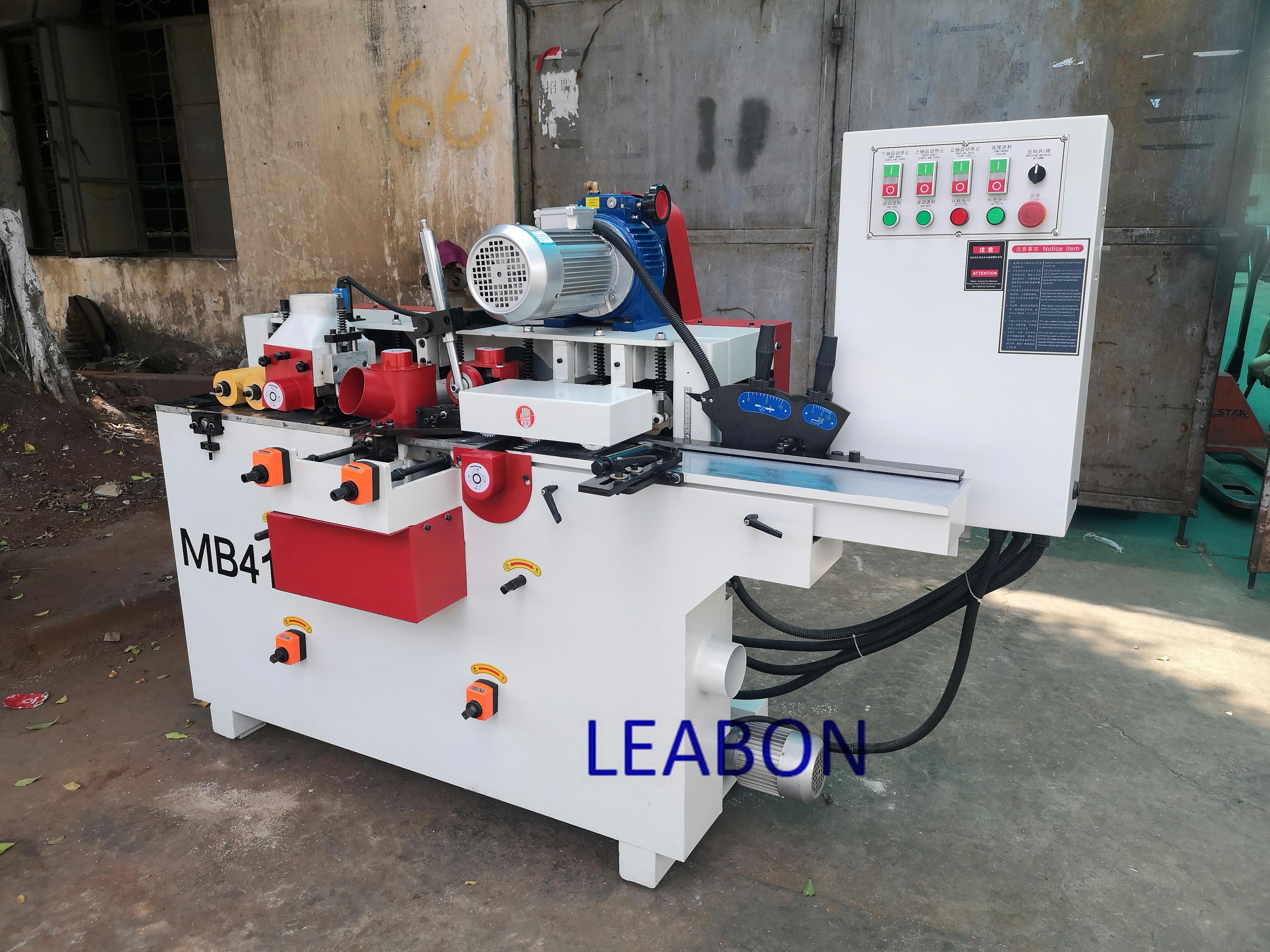 MB412 mini planer thicknesser four side wood moulder planer machine 4 planer moulder