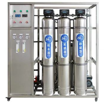 RO Water Purification System/RO water treatment plant/mineral water plant machinery