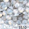 SS10-White Opale Con Strass