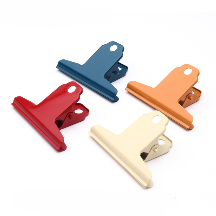 Yamagata Note Ticket Holder Financial Paper Clamp Metal Bill Clips Office and School Supplies Medium