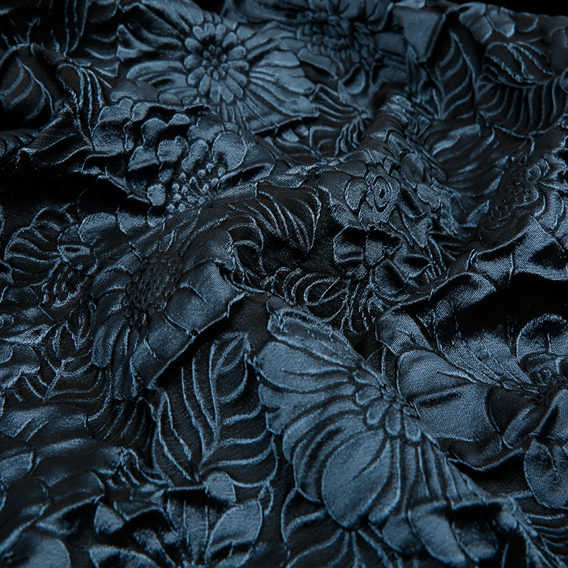 JBS1310N-A  wholesale microfiber soft 3d effect floral fabric for clothing