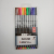vivid colors fineliner marker children writing graffiti pen