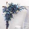 धुन्ध नीले 1.2m x 1.2m त्रिकोण फूल