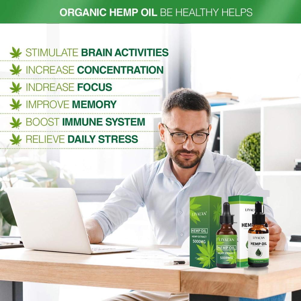 Best Selling Organic Private Label Seed Hemp CBD Oil
