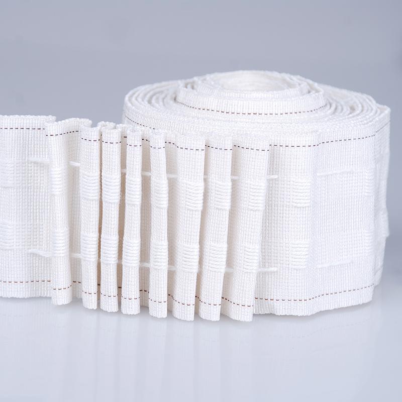 white curtain tape