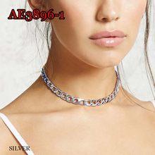 Бесплатная доставка, популярное ожерелье со звездами для мужчин и женщин, короткая цепочка, модные украшения со звездами, чокер, подвески дл...(Китай)