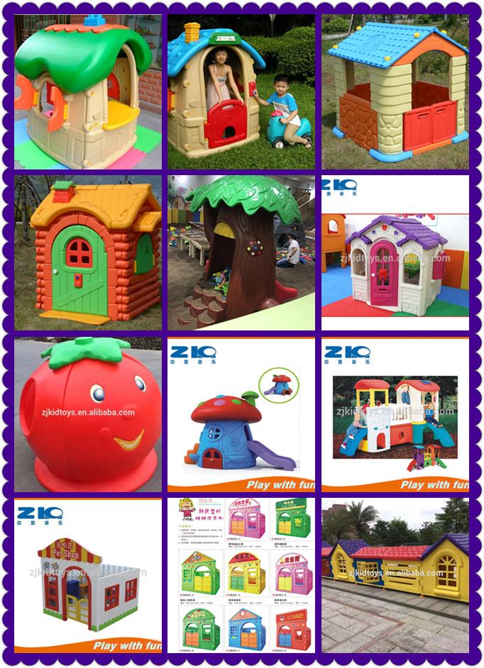 Профессиональное производство, дешевый детский садовый комнатный уличный модный пластиковый игровой домик для детей