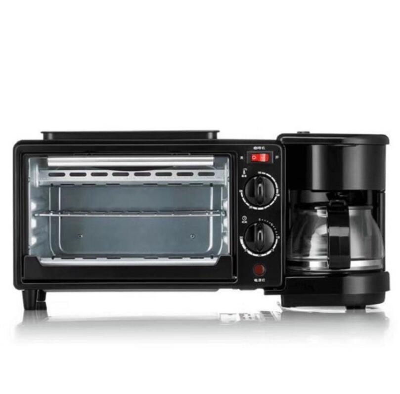 Ретро ultimate печь станции все в одном двойной сэндвич Многофункциональный 3 в 1 многофункциональная электрическая машина для приготовления завтрака