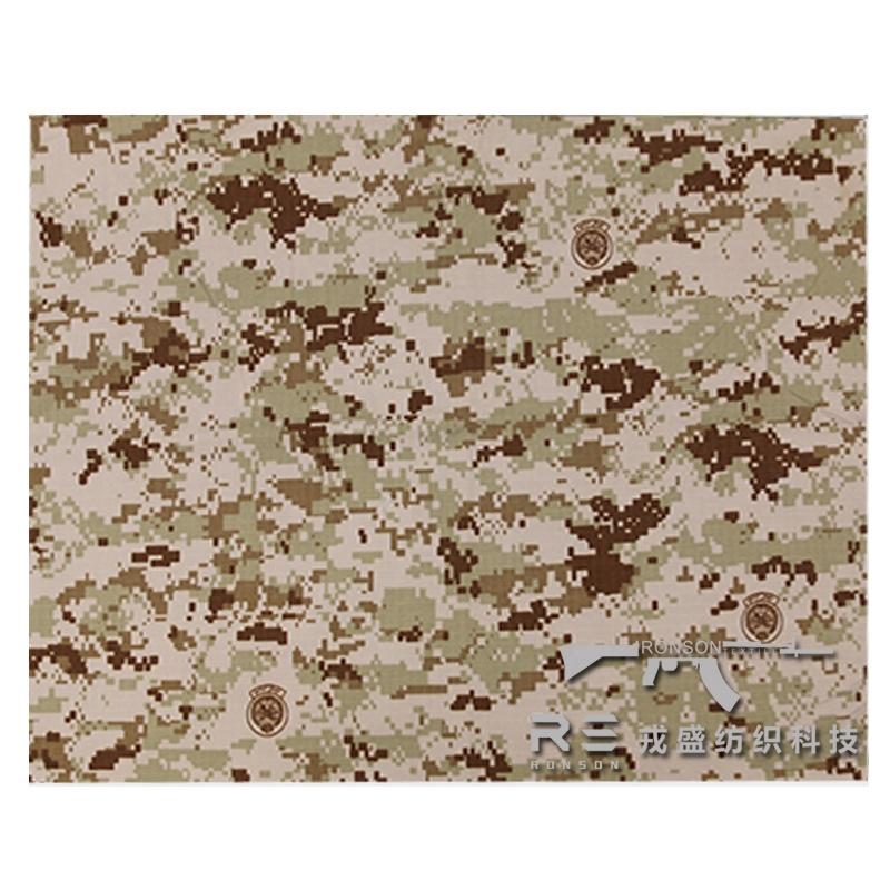Hot sale popular Camouflage printed waterproof antiwear 65%polyester 35%cotton Iraq desert digital fabric