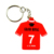 Artigifts Key Ring Factory Wholesale Promotional Gifts Plastic Keyring Logo Custom Made Keychains 3D Soft Pvc Rubber Key Chain