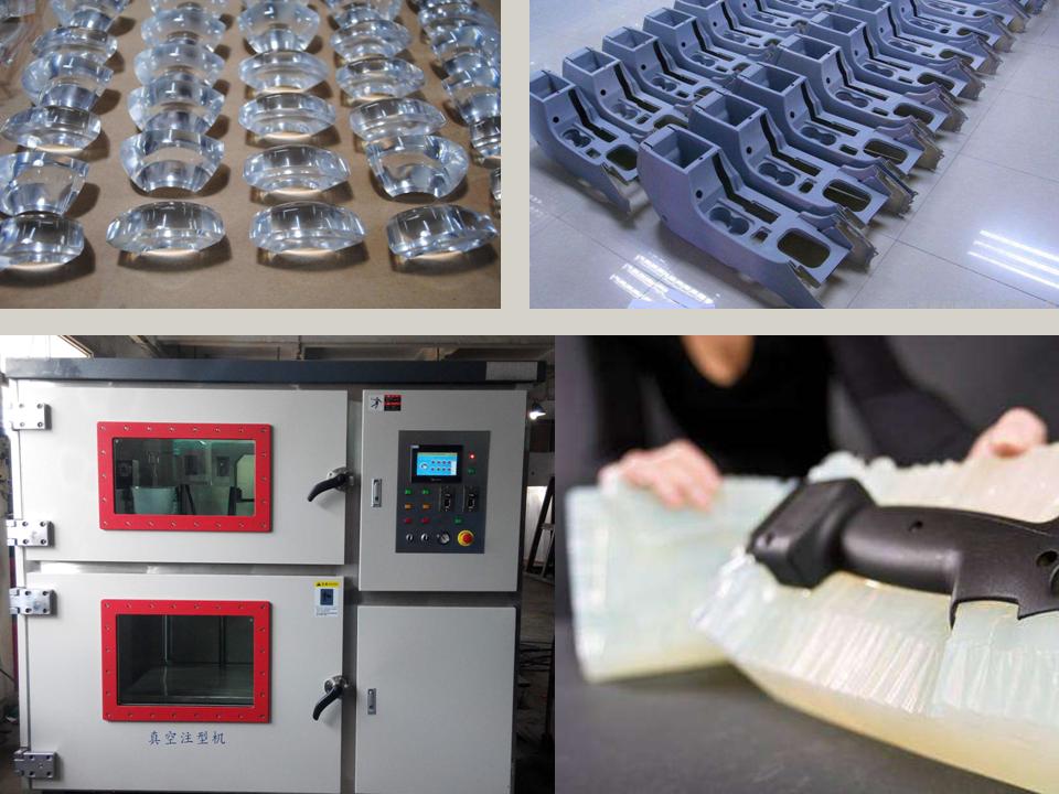 Custom ABS CNC parts resin prototype sla sls rapid prototype plastic case silicone mold vacuum casting