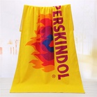 Cotton Towel Cheap Custom Reactive Printing Large 100% Cotton Beach Gym Both Towel With Your Own Design