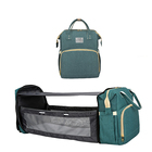 2 In 1 Foldable Diaper Bag Multifunctional Portable Baby Bed Bag And Crib With Changing Mat And Stroller Strap Drop Ship mom bag