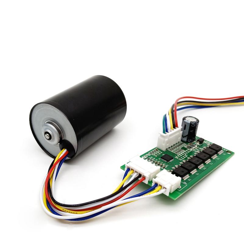 Высокоскоростной бесщеточный двигатель постоянного тока 12 В для насоса TEC3650