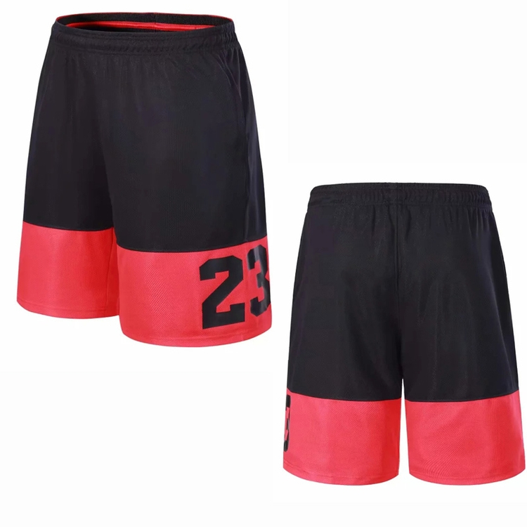 2020 jersey kingsnew style sublimated design reversible shprts basketball shorts with numbers