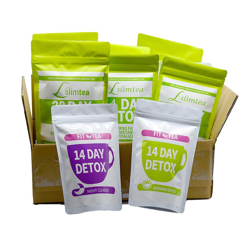 Private Label 14 Day slimming flat tummy tea weight loss Detox Slim tea - 4uTea   4uTea.com