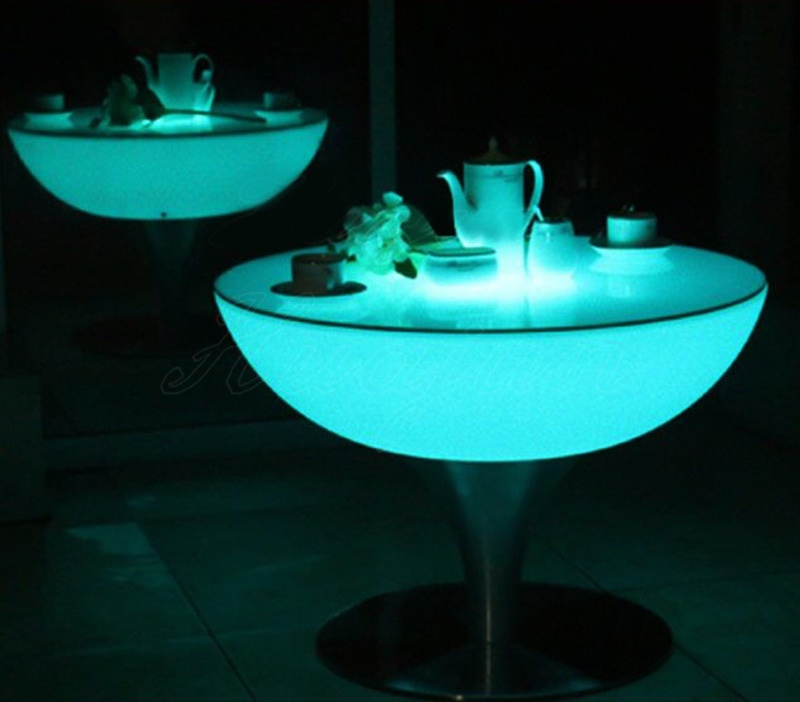 Waterproof unique bar led table and chairs furniture party bar furniture sports chair