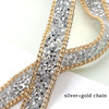 silver+gold chain