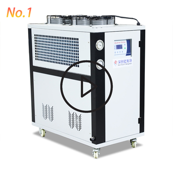 Small Panasonic Scroll Compressor Refrigerated Water Cool Machine Milk Chiller for Sale
