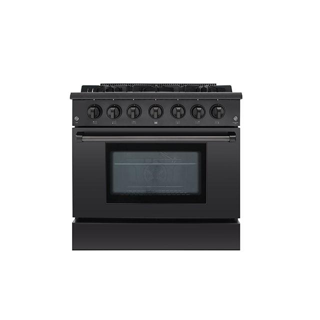Hyxion HYXION3617U  gas cooking range propane oven range for kitchen