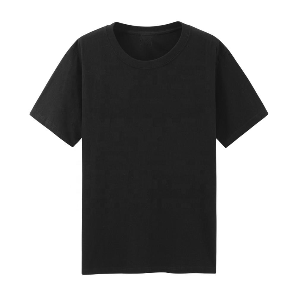 Wholesale Cheap Basic Tshirt Blank Tee No Brand Coustomize Custom Made Heavy Cotton T Shirt