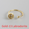 Gold-13 Labradorite
