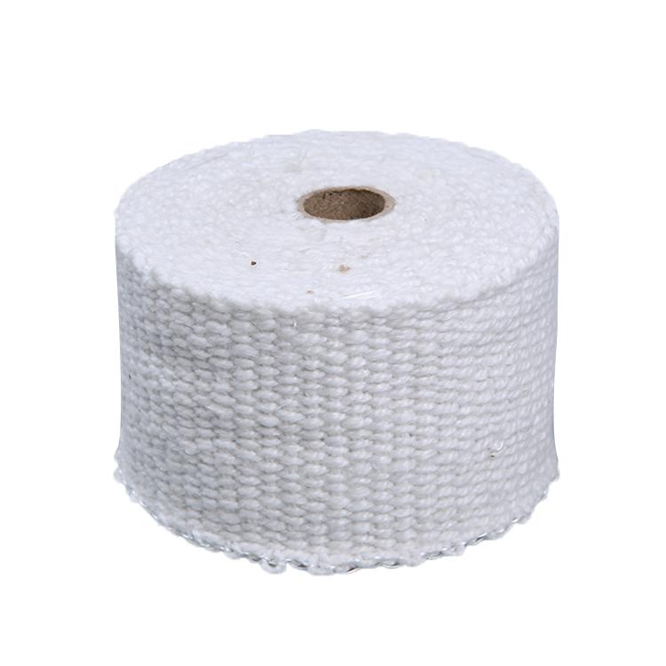 Термостойкость PTFE покрытием волокно стекло Ткань Белый клей клейкие ленты