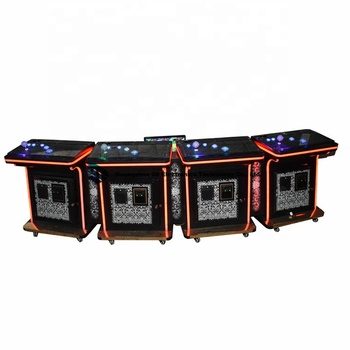 Inexpensive Florida Ocean King 3 Plus 4/8 players fishing hunter cheating fish table come with TV