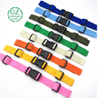 adjustable colored plastic Injection moulding strap buckles high quality safety release for plastic buckle