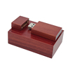 Red wood with box