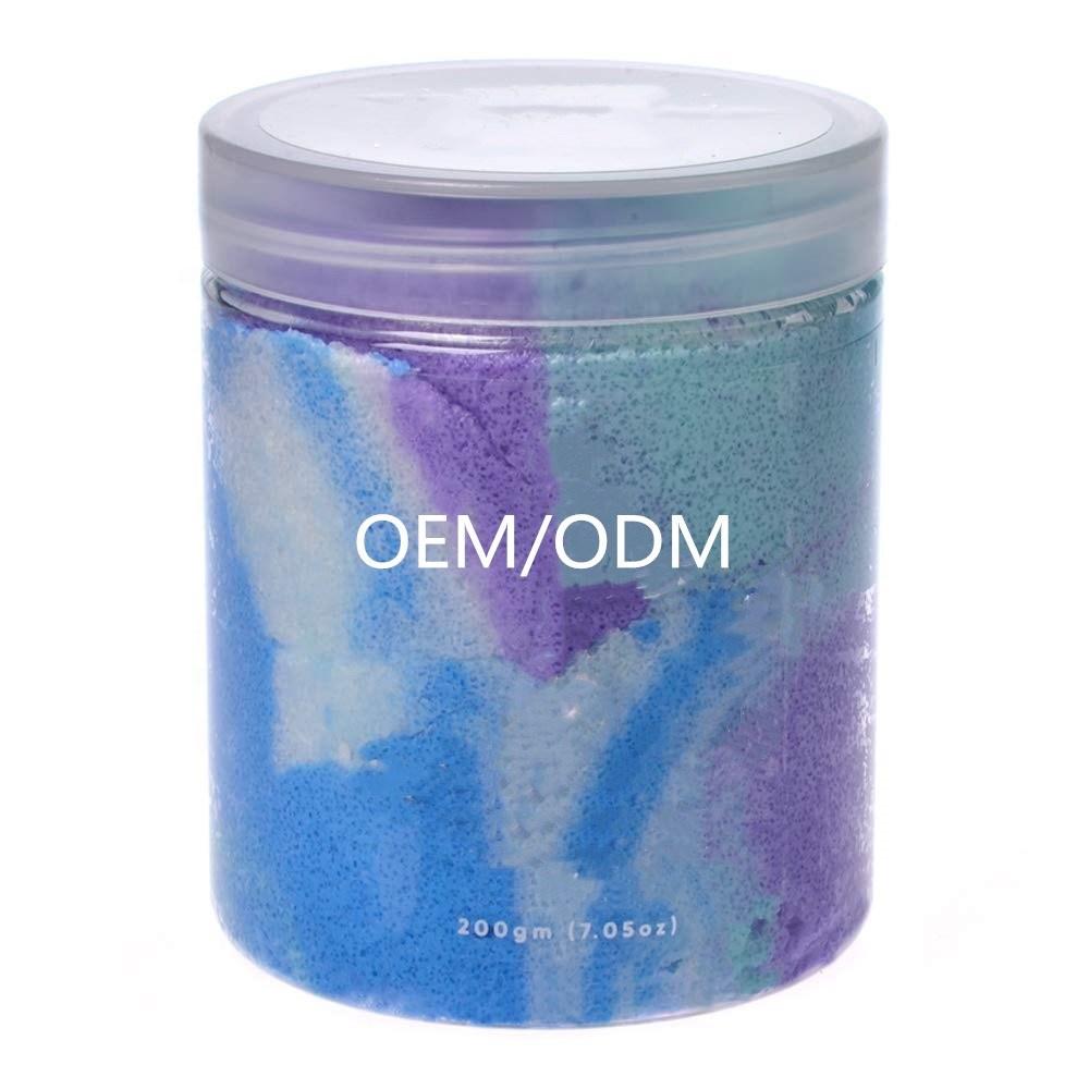 OEM Private Label Anti Cellulite Exfoliating Moisturizing Glitter Sprinkled Body Scrub