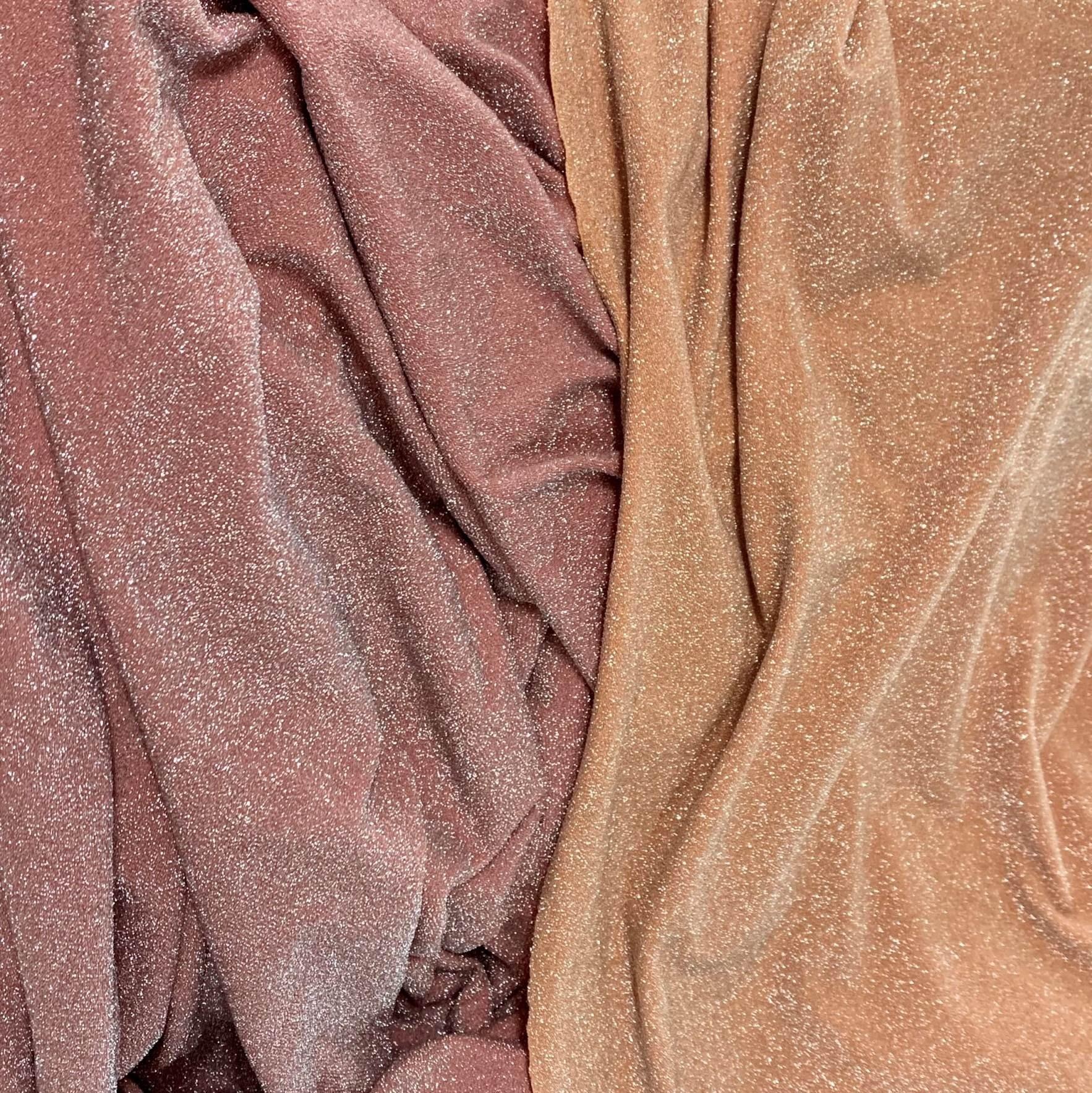 High-quality lurex nylon spandex fabric for swimwear bikini stretch shiny metallic fabrics