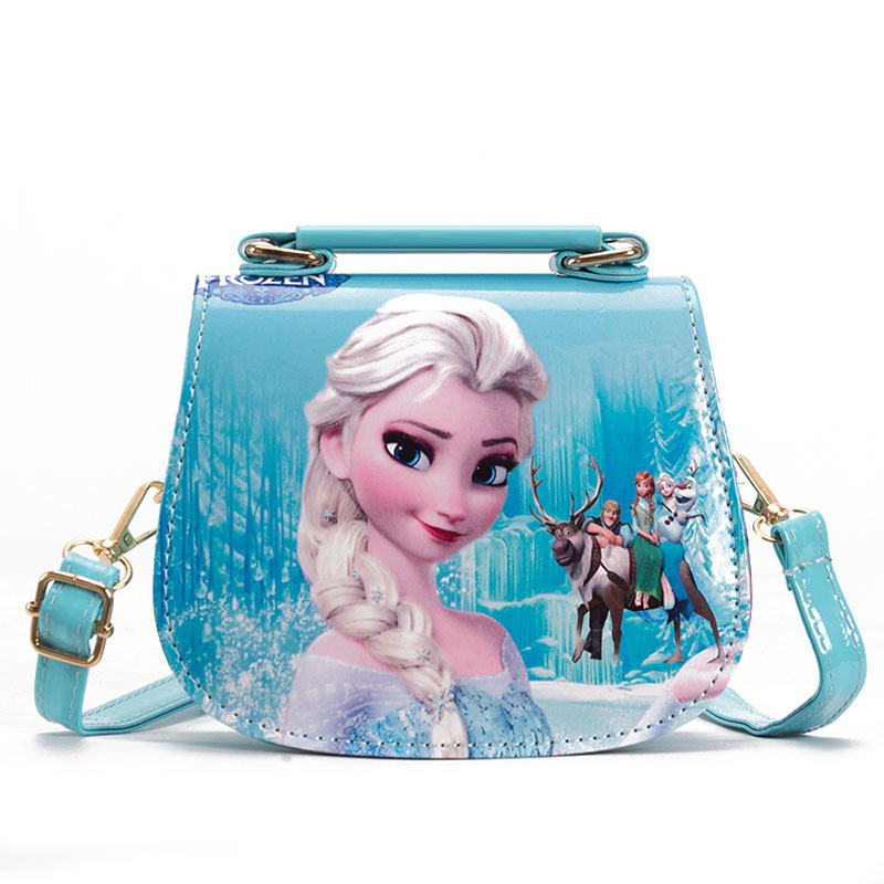 Девичьи модные кошельки с мультяшными принтами, маленькие сумки через плечо из искусственной кожи, мини детские сумки для девочек