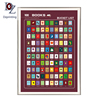 100 books for adult-Wine red