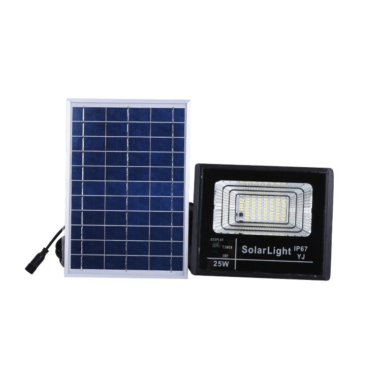 High quality custom wholesale 25w/ 45w radar sensor solar soccer field led work flood light