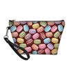 Macarons and fruits cosmetic bag 2