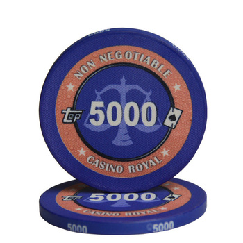 Cheap Professional 10g Sublimation Custom Ceramic Poker Chips for Casino Game