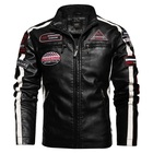 High Quality biker Customized fashion stylish motorbike Men's Leather Jacket leather jacket men