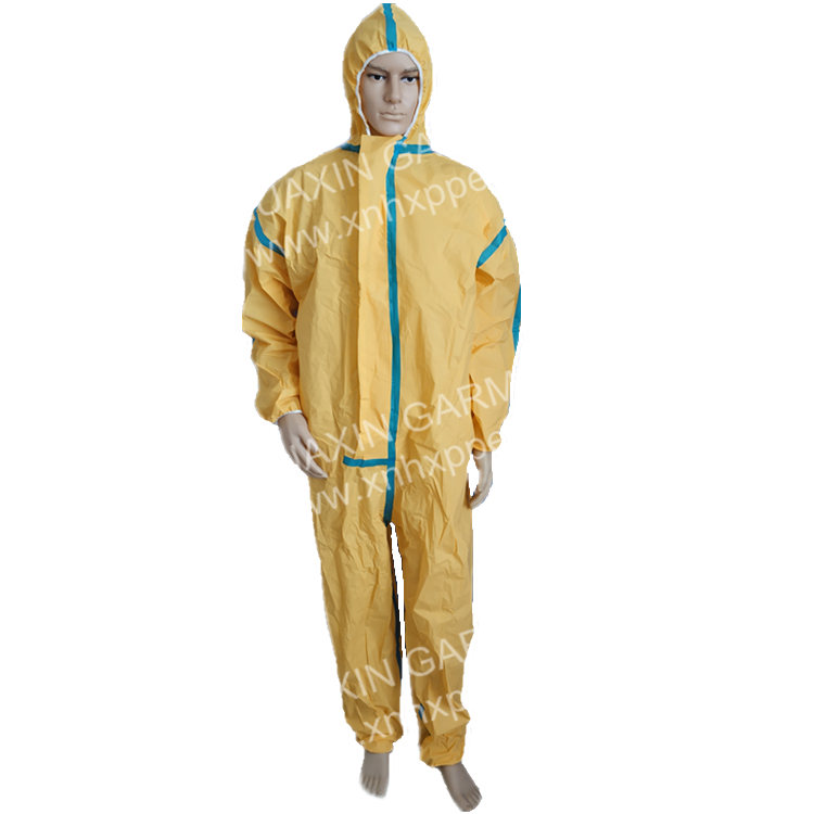 Oil Resistant Protection Coverall with Blue Taped Seam - KingCare | KingCare.net