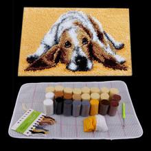Защелка для самостоятельной сборки, набор ковров, сделай сам, коврик из ниток для вышивки крестиком, подушка для вышивки, домашний декор(Китай)