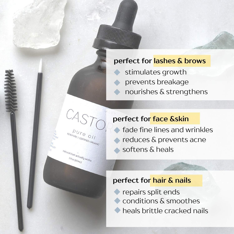 Оптом метка частного назначения чистый холодного отжима масла органического касторовое масло для волос для бровей и ресниц роста 10 мл ямайский черный касторовое масло эфирное масло