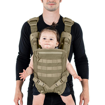 Hot selling BSCI Factory Travel Comfortable Infants and Toddlers Mens Tactical Dad Baby Carrier