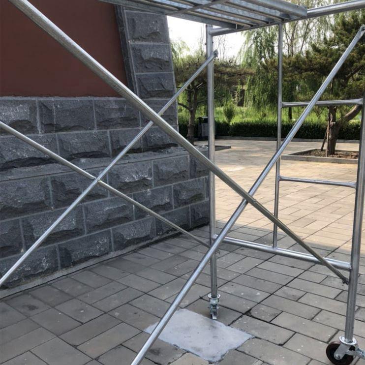 Алюминиевая платформа для скалолазания, Проходная площадка, переносные строительные леса