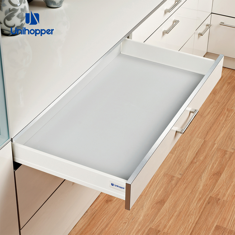 Unihopper Manufacturer Kitchen Cabinet Soft Closing Double Wall Metal Tandem Box Drawer Slide Buy Metal Drawer Boxes Soft Close Metal Box Slow Motion Drawer System For Kitchen Product On Alibaba Com