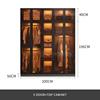 5 door + top cabinet